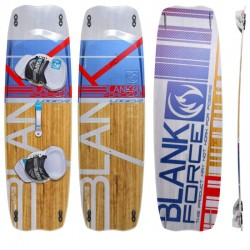 Tabla de Kitesurf twintip BLANKFORCE LOGIC para el freeride