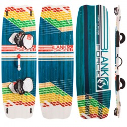 Kiteboarding twintip lightwind kiteboard BLANKFORCE DRIVE 153 freeride