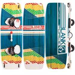 Tabla de Kitesurf twintip BLANKFORCE DRIVE 139 para light wind y viento ligero