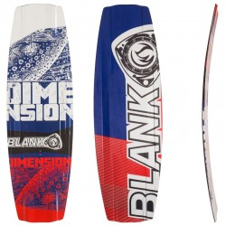 Tavola Wakeboard DIMENSION PRO 100% carbonio per Cable Wakepark BLANKFORCE