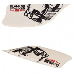 4.2 cm fins for twintip freeride kiteboards accessories BLANKFORCE