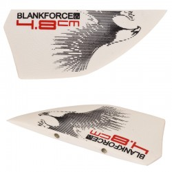 4.8 cm fins for twintip freeride kiteboards accessories BLANKFORCE