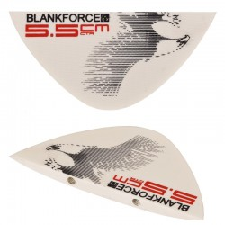 central fins 5.5cm for lightwind DRIVE 159 kiteboard BLANKFORCE