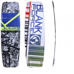 Kiteboarding twintip board BLANKFORCE ADVISORY MX wakestyle