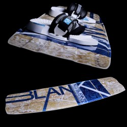 Kiteboarding twintip kiteboard BLANKFORCE FMX freeride crossover