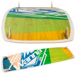 Kiteboarding twintip board BLANKFORCE WANNA freeride