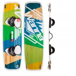Tabla de Kitesurf twintip BLANKFORCE WANNA para el freeride